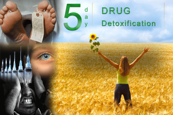 5 day drug detoxification programme